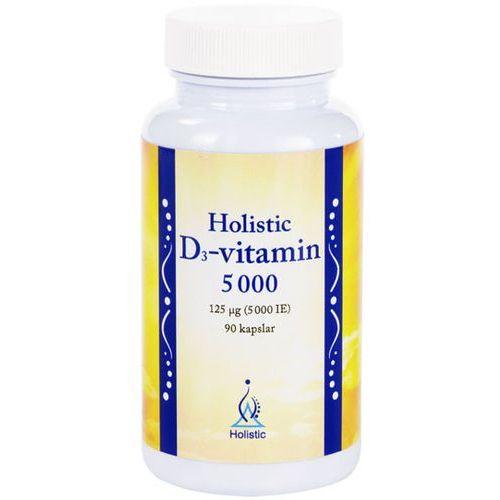 Witamina D3 5000 cholekalcyferol Holistic 90 kapsułek - produkt farmaceutyczny