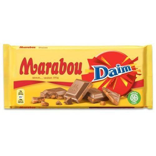 - daim - czekolada mleczna z kawałkami daim - 200g - ze szwecji marki Marabou