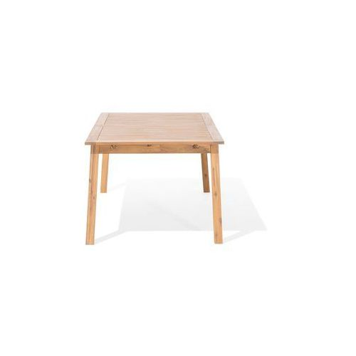Stół ogrodowy drewniany 180/240 x 100 cm rozkładany cesana marki Beliani