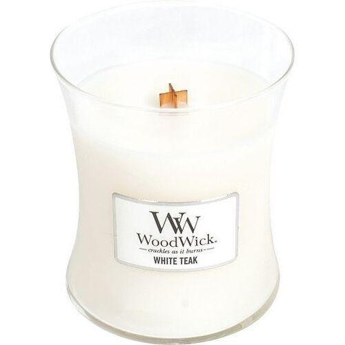 Świeca core white teak duża marki Woodwick