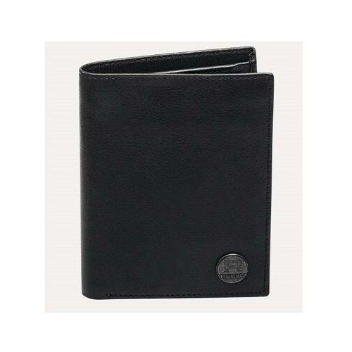 portfel REELL - Clean Leather Black Black (Black ) rozmiar: OS