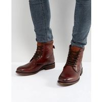 derrian leather lace up boots in brown - brown marki Aldo