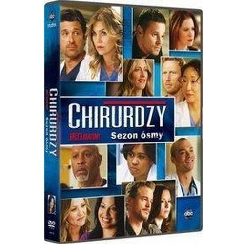 Cd projekt Chirurdzy. sezon 8 6dvd (5907610745015)