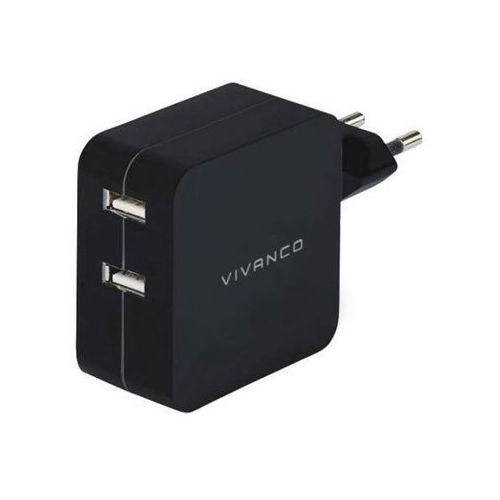 Ładowarka VIVANCO 4.2 Ampere Dual Car Charger XL