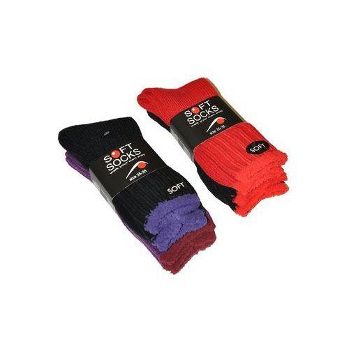 Skarpety WiK Soft Socks 38910 damskie A'2 35-38, wielokolorowy, WiK, kolor wielokolorowy