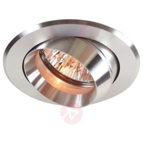 Deko-light Wychylny pierścień wpuszczany z aluminium srebrny