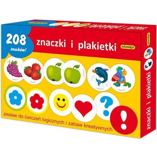 Adamigo Znaczki i plakietki - zestaw edukacyjny (5902410006199)