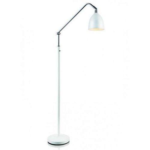 Lampa podłogowa fredrikshamn 105022 metalowa oprawa stojąca biała marki Markslojd