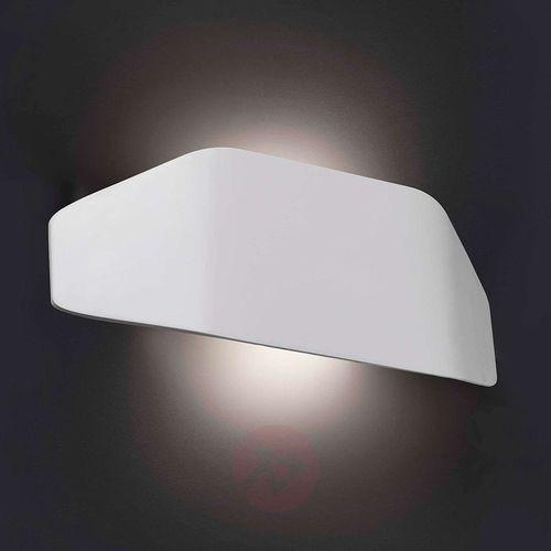 Nowoczesna lampa ścienna zewnętrzna future biała marki Lorefar (faro)