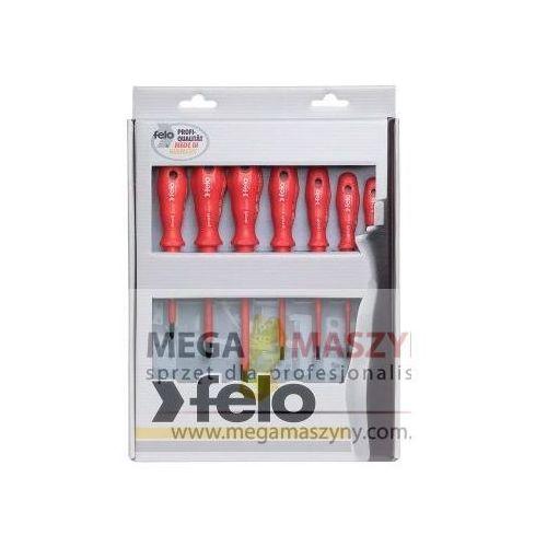 FELO Zestaw wkrętaków izolowanych 7 szt seria 600 2,5/3,0/3,5/4,0/5,5/PH1/PH2 - produkt z kategorii- Zestawy narzędzi ręcznych