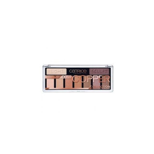 the precious copper collection eyeshadow palette, paleta cieni do powiek marki Catrice