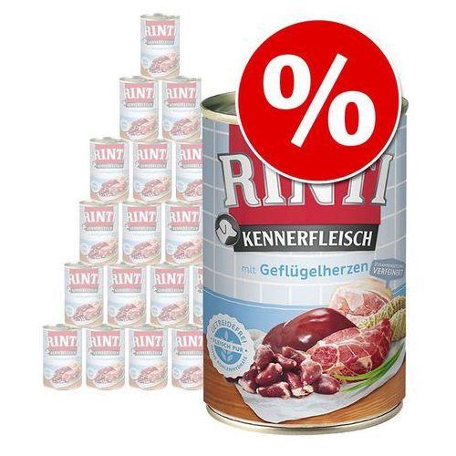 12% taniej! pur, 24 x 400 g w super cenie! - mieszany pakiet i, 2 smaki  dostawa gratis + promocje  -5% rabat dla nowych klientów marki Rinti