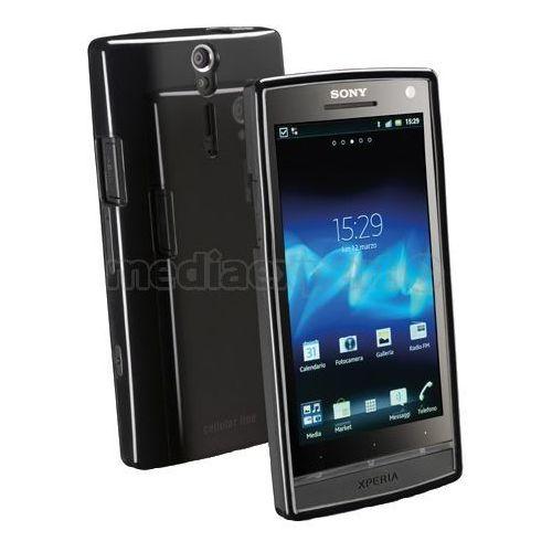 Pokrowiec CELLULAR LINE Shocking (Sony Xperia S) Czarny