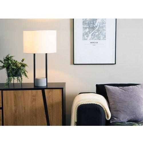Lampa stołowa biała 60 cm REMUS