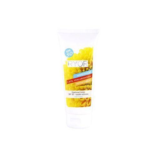 Ryor  sun care krem do opalania spf 50 (high protection, waterproof, contains hyaluronic acid, photostable) 100 ml