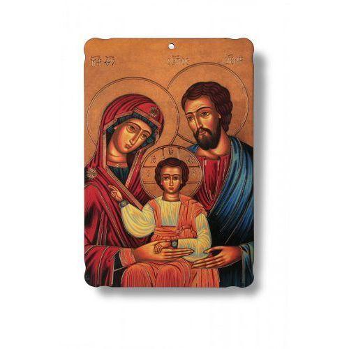 Obrazek na drewnie Święta Rodzina