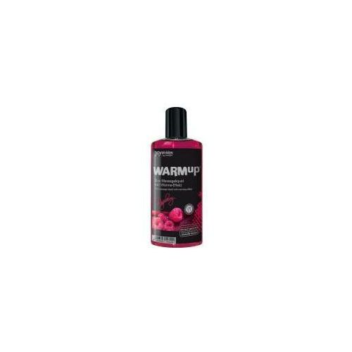 Rozgrzewający olejek do masażu Joy Division WARMup Raspberry 150ml