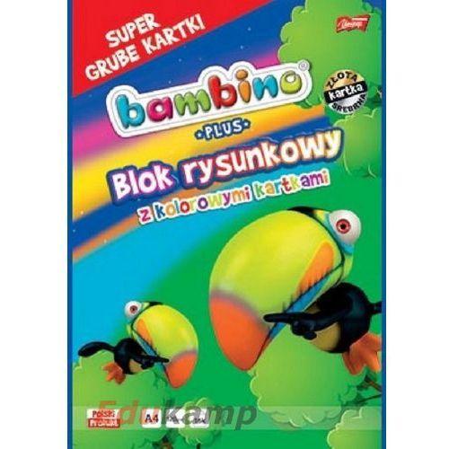 Blok biurowy MAJEWSKI A4 kolorowy 16k Bambino PLUS Darmowy odbiór w 19 miastach!, 5903235003585