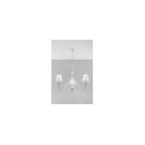 Sollux minerwa sl.0558 lampa wisząca zwis 3x40w e14 biała