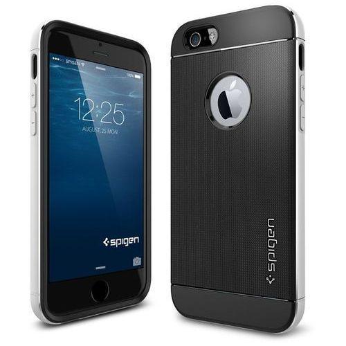 Etui spigen do iphone 6 case neo hybrid metal series satynowo-srebrny marki Spigen sgp