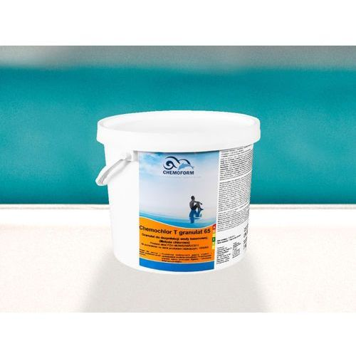 Chemia basenowa chemochlor t granulat 5kg chlor szok