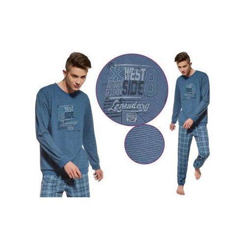 Piżama męska WEST: niebieski