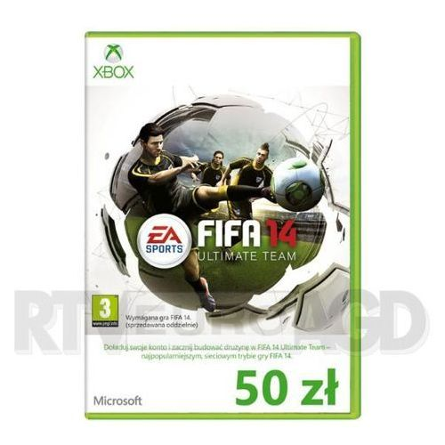 FIFA 14 Ultimate Team Xbox Live 50 PLN (5900626779449)