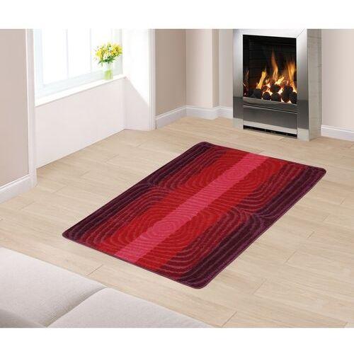 """Chodnik dywanowy """"Spirale"""" czerwony, 80 x 120 cm (8696063111627)"""
