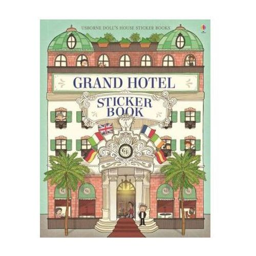 Grand Hotel Doll's House Sticker Book