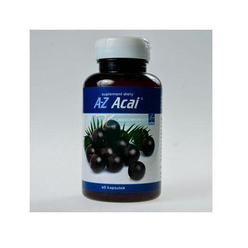 Kapsułki A-Z Acai extract standaryzowany 350mg 60 kaps.