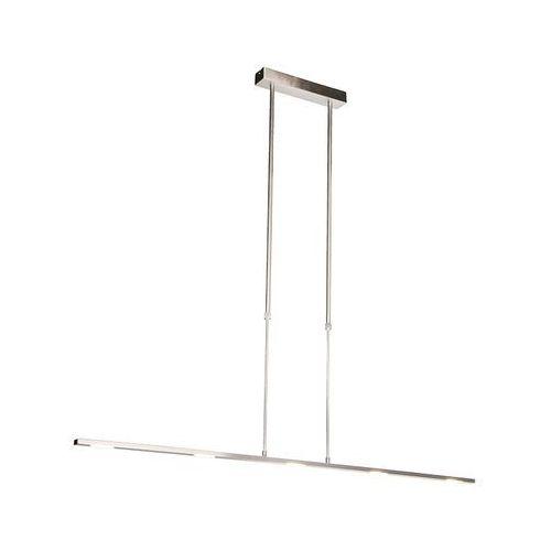 Nowoczesna lampa wisząca ze stali, w tym LED, regulowana - pogrubiona