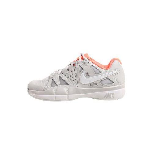 Nike Performance AIR VAPOR ADVANTAGE Obuwie do tenisa Outdoor vast grey/white/lava glow (0888411984023)