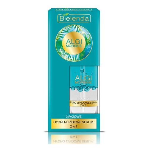 Nawilżające hydro-serum 2w1 algi morskie 30ml  marki Bielenda