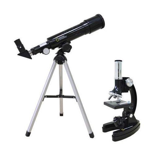 Zestaw BRESSER Teleskop 50/360 AZ + Mikroskop 300x-1200x + DARMOWY TRANSPORT!
