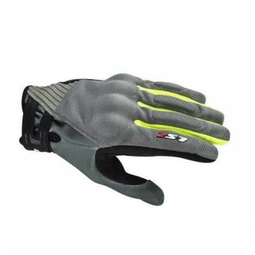 Rękawice motocyklowerękawice dart 2 man grey yellow marki Ls2