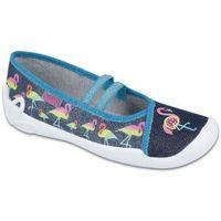 buty dziewczęce blanca 33 niebieski marki Befado