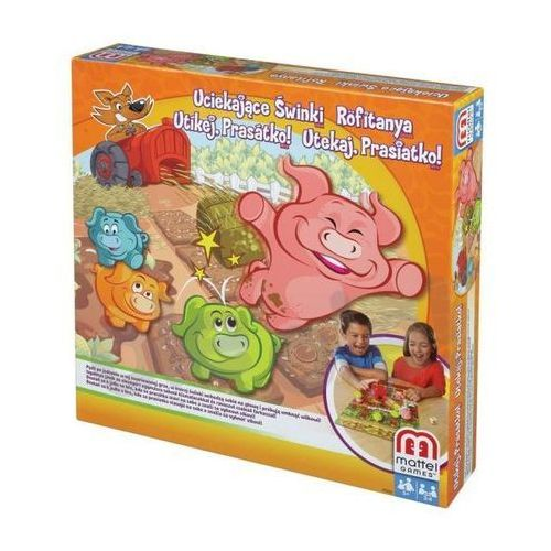 Mattel  uciekające świnki - produkt w magazynie - szybka wysyłka!