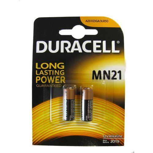 Duracell dumn21 – 2 MN21 V23GA bateriami (zestaw 2 szt., 12 V, 50 mAh) (0500394203969)