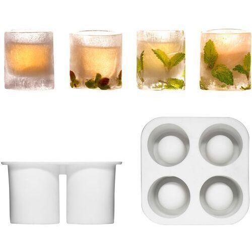 Silikonowa forma na 4 lodowe szklaneczki