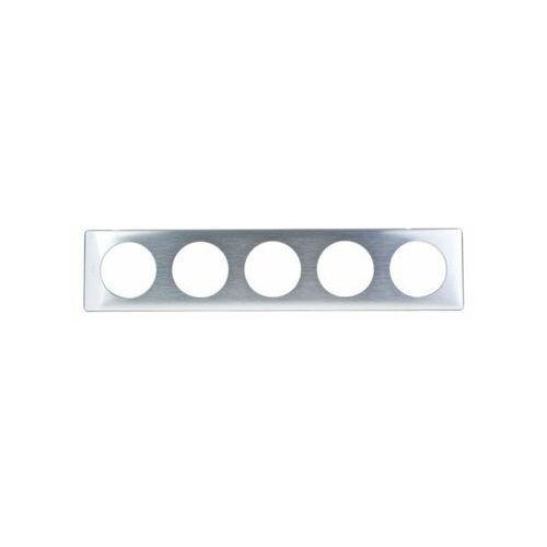Ramka pięciokrotna Legrand Celiane 068930 aluminium (3245060689308)