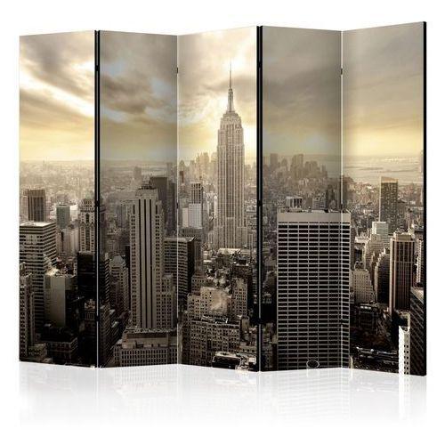 Parawan 5-częściowy - Światło Nowego Jorku II [Room Dividers]