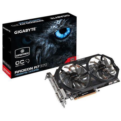 Karta graficzna GIGABYTE Radeon R7 370 4096MB DDR5/256b H/D PCI-E WF2 OC - GV-R737WF2OC-4GD (karta graficzna)