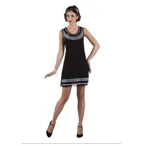 Sukienka gems czarna - m - stroje dla dorosłych wyprodukowany przez Aster