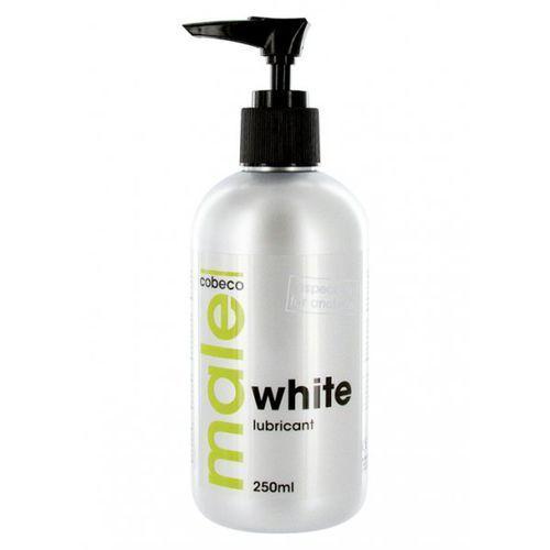 Cobeco pharma Cobeco male white lubricant preparat biały na bazie wody do nawilżania 250ml