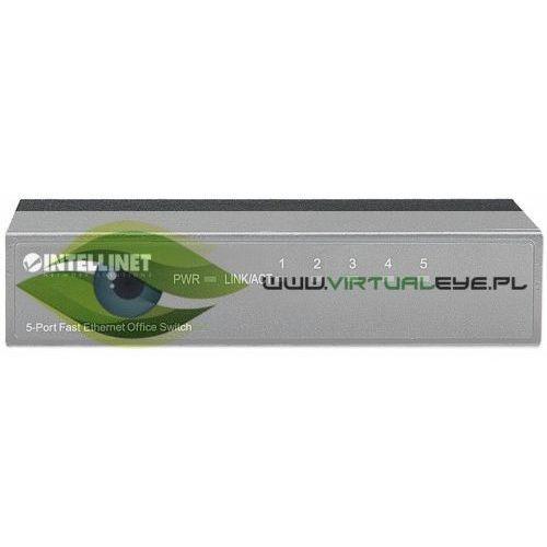 Intellinet Przełącznik Ethernet 5x 10/100 Mbps RJ45 desktop
