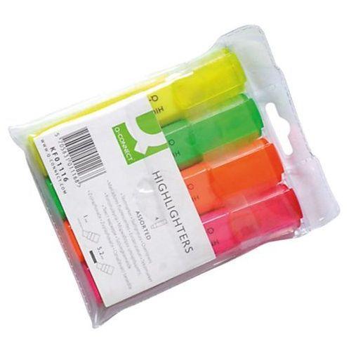 Textmarker mix kpl. 4 kolory marki Q-connect