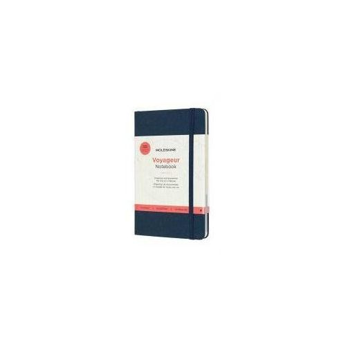 Moleskine Notes voyageur 208 stron, ocean blue (8058647620374)