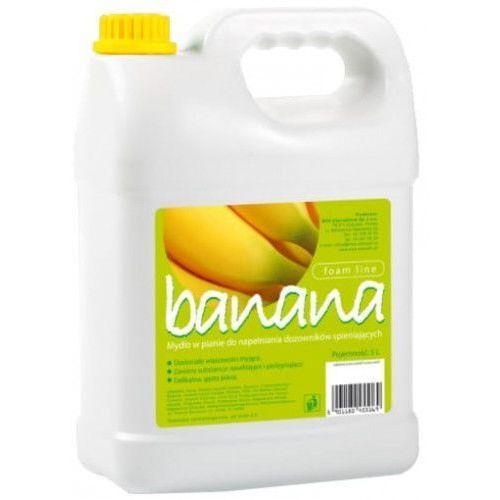 Eu Mydło w pianie 5l o zapachu bananowym