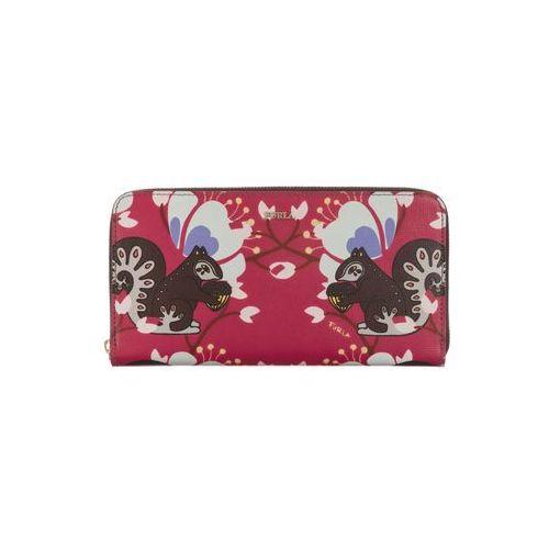 Furla babylon portfel różowy wielokolorowy uni (8051510912095)