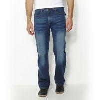 Jeansy regular, proste, jeans